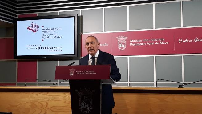 Ramiro González 'coincide' con Azpiazu en que las reformas fiscales no deben suponer una menor recaudación.