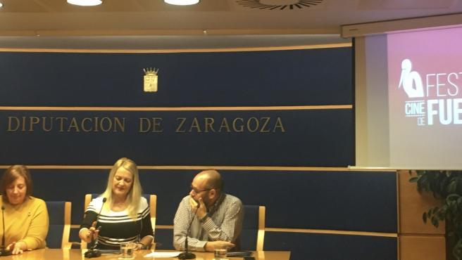 Rueda de prensa de presentación de la 24ª edición del Festival de Cine de Fuentes el Ebro