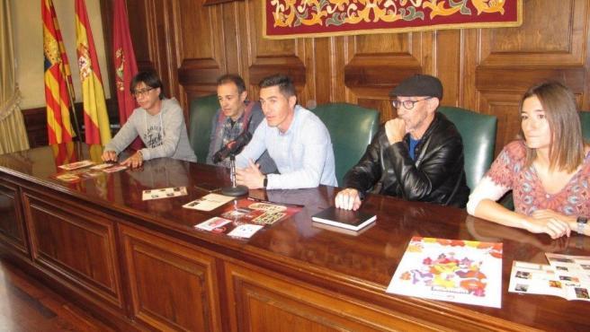 Rueda de prensa de presentación 'Teatro de Aquí' en Teruel