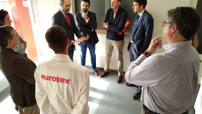 Visita de Cs a Eurotex