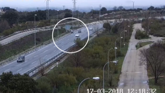 Tráfico pide prudencia este puente mostrando los últimos accidentes captados por sus cámaras.