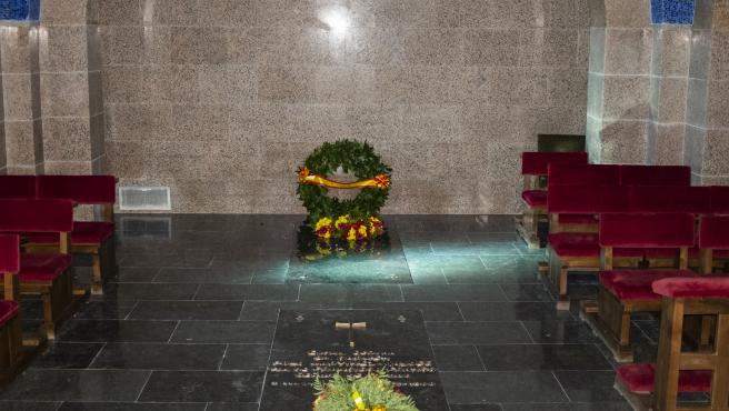 Cripta en Mingorrubio con los restos mortales de Franco.