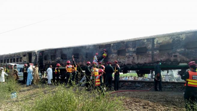 Accidente en Pakistán