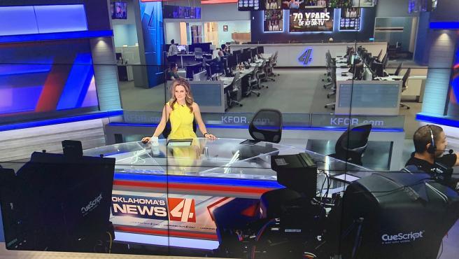 Ali Meyer, la periodista a que diagnosticaron cáncer de mama en directo.