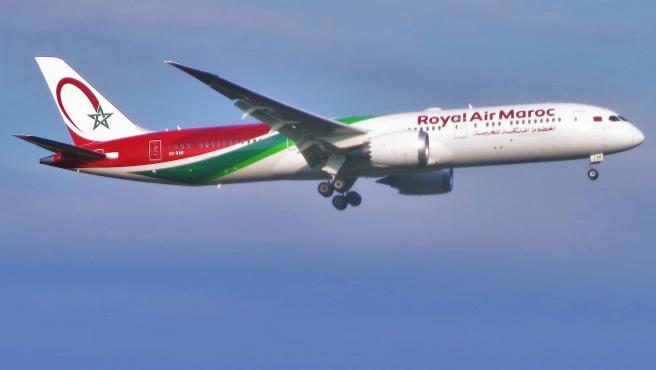 Avión de Royal Air Maroc.