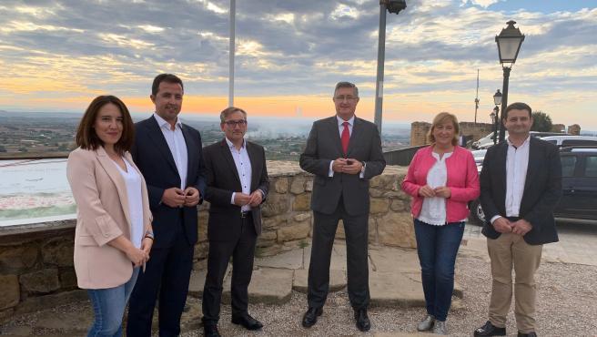 Candidatos del PP Teruel al Congreso y el Senado.