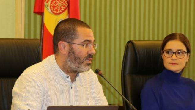 El director técnico de la Red Europea de Lucha contra la Pobreza y la exclusión Social de Baleares (EAPN-IB), Andreu Grimalt, en el Parlament