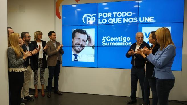 El PP de La Rioja inicia la campaña electoral del 10 de noviembre