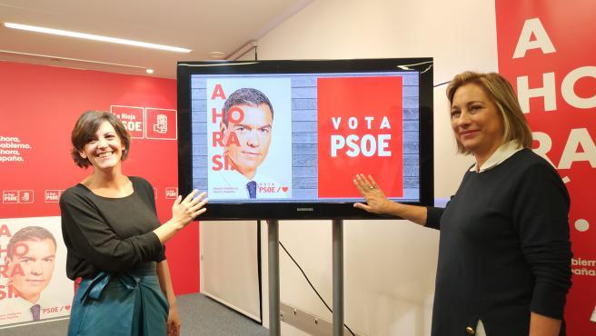 El PSOE de La Rioja inicia su campaña electoral para las elecciones del 10N