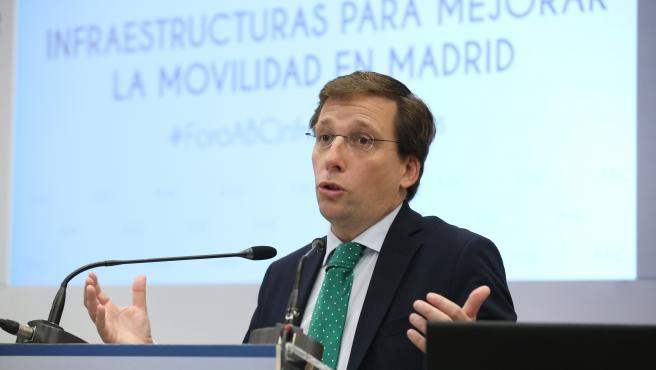 El alcalde de Madrid, José Luis Martínez Almeida, en una imagen de este jueves.