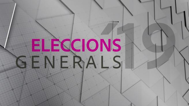 Imagen de IB3 para las elecciones generales del 10N