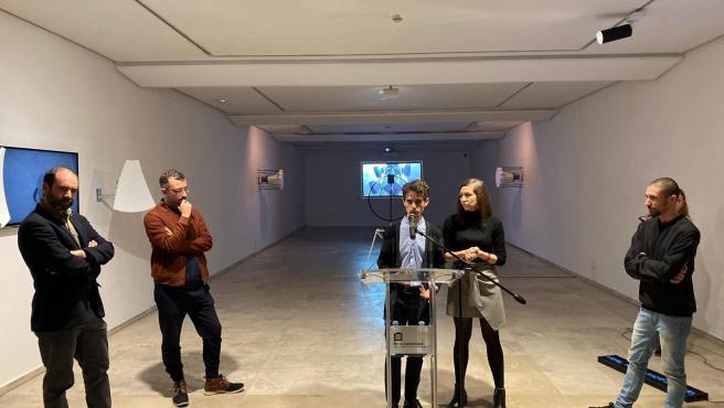 Inauguración de la segunda muestra del Proyecto Europeo Creart en el Museo Patio Herreriano de Valladolid.