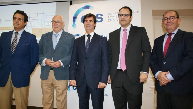 José Alberto Jiménez, Jaime Raynaud, Miguel Rus, José Lorenzo y Tomás González