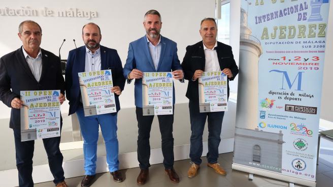 Juan Carlos Maldonado presenta el II Open Internacional de Ajedrez de la Diputación de Málaga