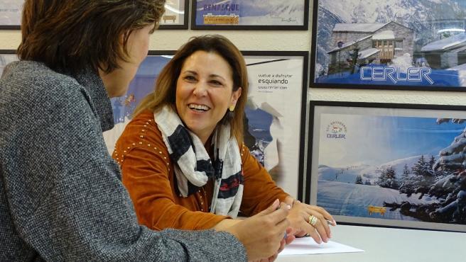 La candidata de Cs Huesca al Congreso, Lourdes Guillén.
