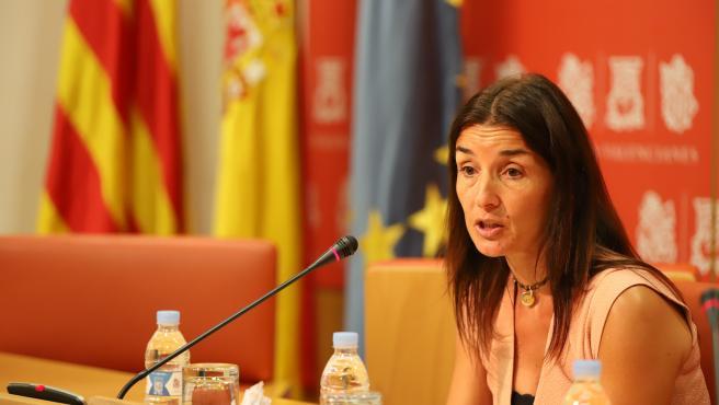La portavoz adjunta de Ciudadanos Ruth Merino en imagen de archivo
