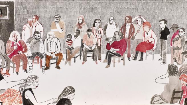 Obra de Ana Penyas. En Transición 007