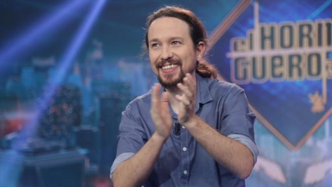 Pablo Iglesias, en 'El hormiguero'.