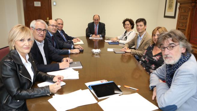 Primera reunión del Consejo de Diálogo Social de la legislatura