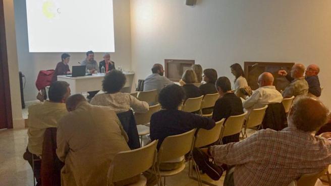 Segunda reunión del consejo municipal de la Cultura de Palma.