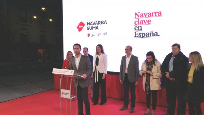 Sergio Sayas, candidato de Navarra Suma al Congreso de los Diputados