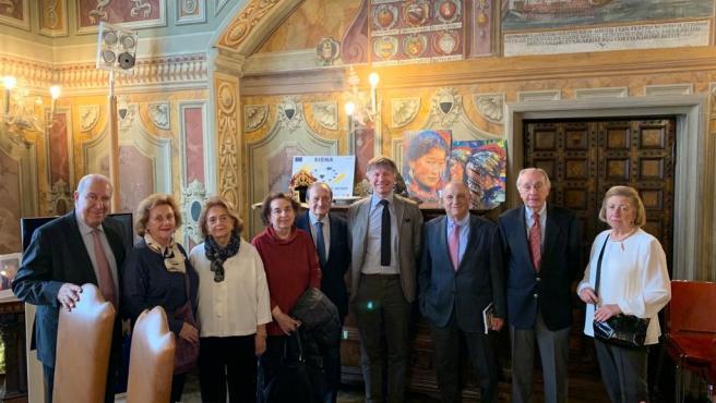Visita de la Cámara Italiana de Sevilla a Siena