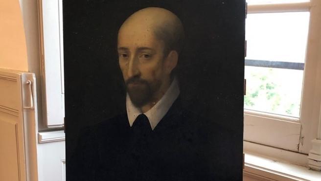 El posible Da Vinci del Castillo de Valençay, en el que se puede ver a Maquiavelo.