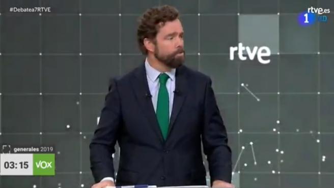 Espinosa de los Monteros, en el debate.