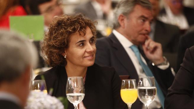 La candidata del PP a las europeas, Dolors Montserrat, en una foto de archivo