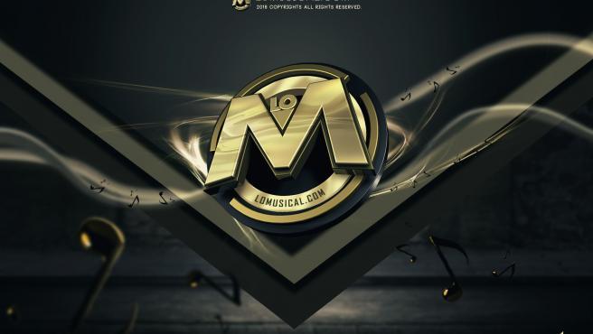 El logotipo de la web Lomusical, bloqueada por descargas ilegales.