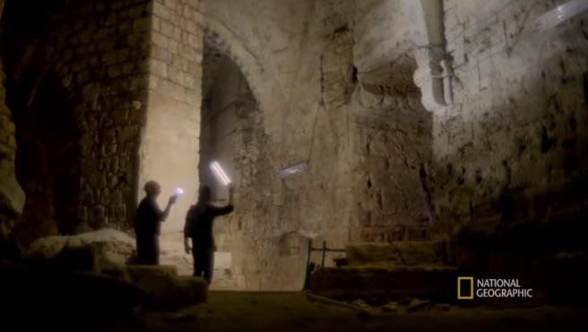 Túneles secretos usados por los templarios en israel.