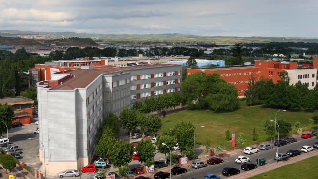 Vista aérea Universidad de La Rioja UR