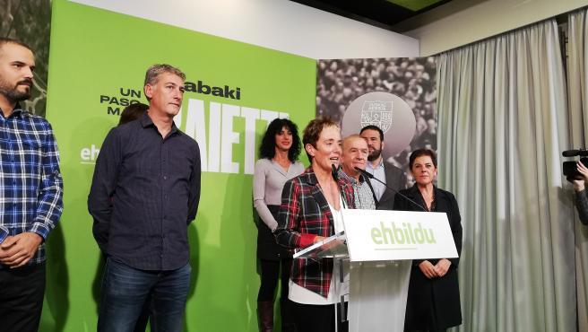Bel Pozueta, candidata de EH Bildu por Navarra al Congreso de los Diputados