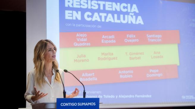 Imagen de archivo de Cayetana Álvarez de Toledo.