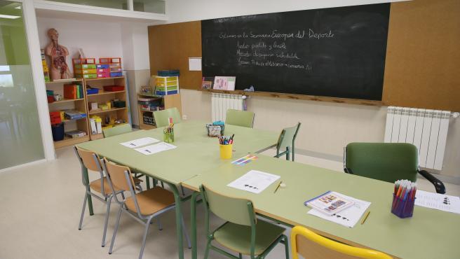 Colegio, clase, aula, infantil, escolar