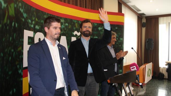 El potavoz de Voz n el Congreso, Iván Espinosa de los Monteros.