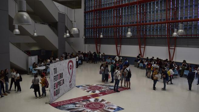 Estudiantes de la Universidad de Huelva