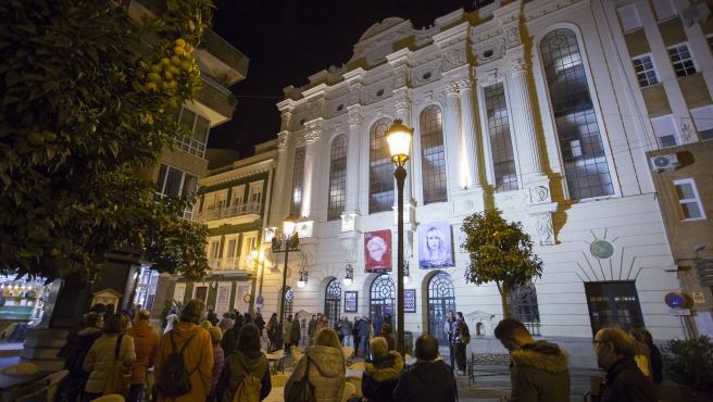 HUELVA, 20/11/18 HUELVA - GRAN TEATRO 44 EDICION FESTIVAL DE HUELVA CINE IBEROAMERICANO . Foto: ALBERTO DIAZ / FESTIVAL DE HUELVA CINE IBEROAMERICANO