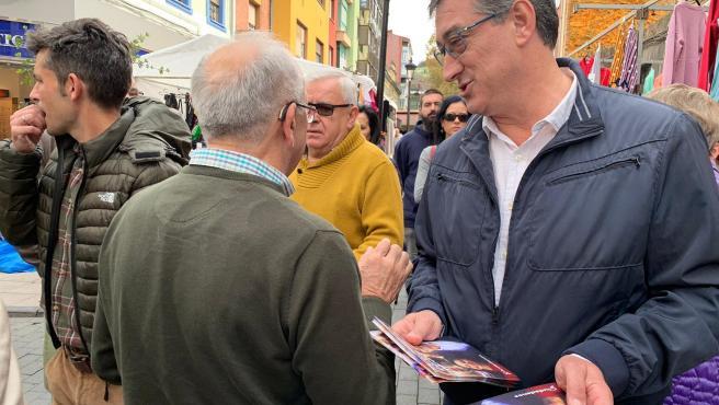 Ignacio Prendes, en La Felguera