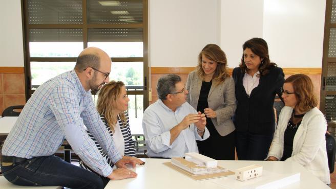 Investigadores del proyecto 'Casas saludables' de la UCAM