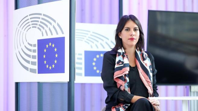 La europarlamentaria del PSN Adriana Maldonado.