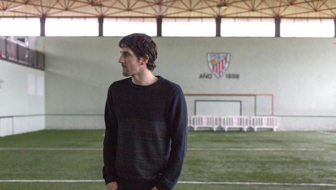 Mikel San José, jugador del Athletic