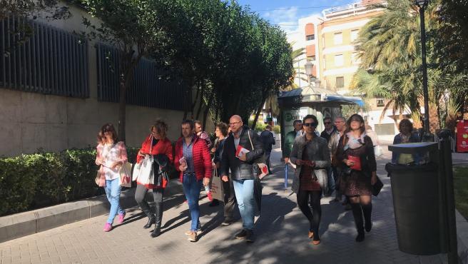 PSOE pide que se vote 'con ganas y pasión'