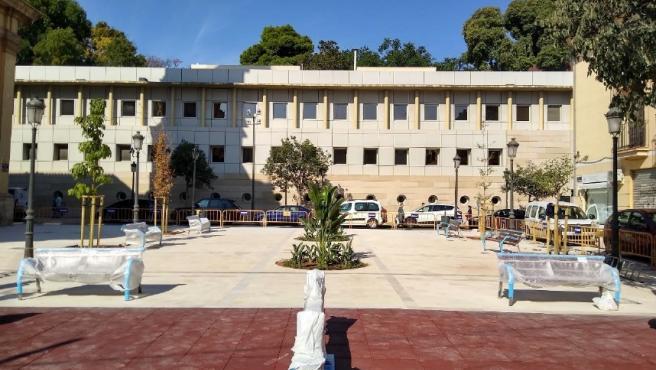 Reurbanización de la Plaça de Sant Sebastià de València