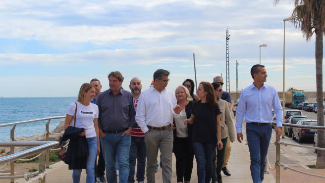 Sandra Julià visita Vinaròs