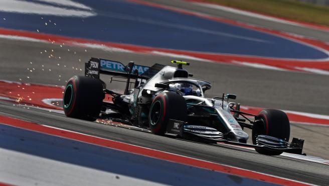 Valtteri Bottas, durante el GP de Estados Unidos