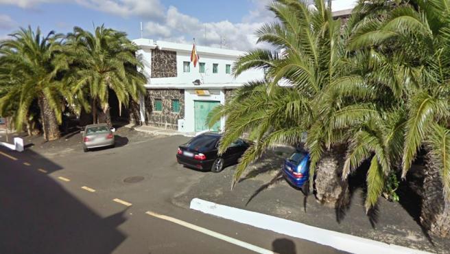 Cuartel de la Guardia Civil en Yaiza (Lanzarote).