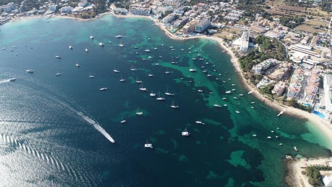 Zona litoral de Sant Josep de sa Talaia, en Ibiza