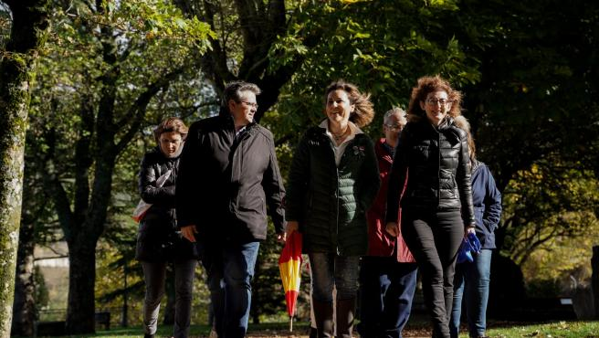Acto electoral de Cs en Jaca (Huesca).