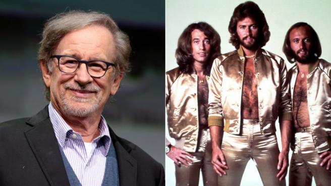 Steven Spielberg producirá una película sobre los Bee Gees